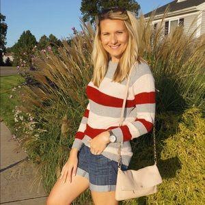 Amazon Fashion Striped knit sweater